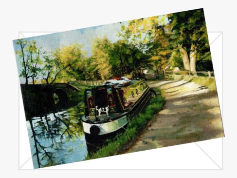 Bottom of Marple Locks Cards