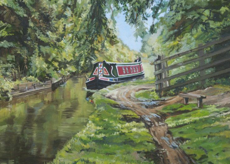 Cruising the Ashby canal