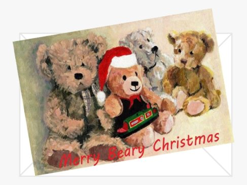 Merry Beary Xmas Cards